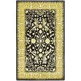 Safavieh Silk Road Oriental Handmade Tufted Wool Ivory Area Rug Wool in Brown/White, Size 72.0 H x 0.5 D in | Wayfair SKR213B-4