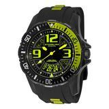 Stuhrling Original Men's 1528.3357L71 Lifestyle Enterprise EX-2 Swiss Quartz Rubber Strap Watch