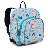 Wildkin 12 Inches Backpack for Toddlers, Boys and Girls, Ideal for Daycare, Preschool and Kindergarten, Perfect Size for School and Travel, Mom's Choice Award Winner, Olive Kids (Mermaids)