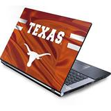Skinit Decal Laptop Skin Compatible with Generic 17in Laptop (15.2in X 9.9in) - Officially Licensed University of Texas at Austin Texas Longhorns Jersey Design