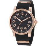 Charles-Hubert, Paris Men's 3892-RG Premium Collection Rose-Gold Stainless Steel Watch