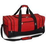 "Everest 25"" Sporty Travel Duffel Nylon/Polyester, Size 12.0 H x 25.0 W x 12.0 D in | Wayfair 025-RD"