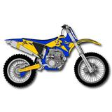 "One World Oversized Handpainted 3"" Motorbike Novelty Knob Wood in Blue/Brown, Size 3.0 H x 3.0 W x 0.63 D in   Wayfair DP00000627"