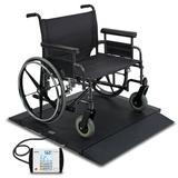 Detecto Portable Bariatric Wheelchair Scale | Wayfair BRW1000