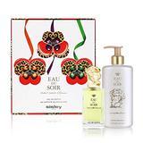 Eau du Soir by Sisley for Women 2 Piece Set Includes: 3.3 oz Eau de Parfum Spray + 8.4 oz Perfumed Bath and Shower Gel