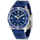 Breitling Men's A1732116/C832 SuperOcean Heritage Blue Chronograph Dial Watch