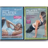 Gaiam LIMITED EDITION 2 Pack DVD Set Beginning Pilates Mat Workout / Pilates Intermediate Mat Workout