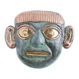 'Lord of Sipan' - Handcrafted Archaeological Copper and Bronze Mask