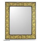 Mirror, 'Golden Bouquet'