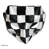 Leather mask, 'Pantalone'