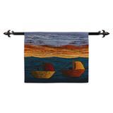 Wool tapestry, 'Peruvian Coast'