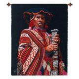 Wool tapestry, 'The Mayor'