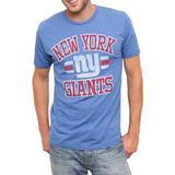 NFL Men's New York Giants Heather Jersey Short Sleeve Crew Neck Tee (Liberty, Small)