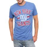 NFL Men's New York Giants Heather Jersey Short Sleeve Crew Neck Tee (Liberty, X-Large)