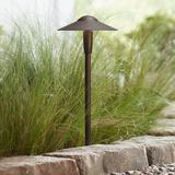 "Kichler Landscape 8 1/4"" Wide LED Bronze Dome Path Light"