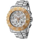 Invicta Men's 1958 Reserve Chronograph Silver Dial Stainless Steel Watch