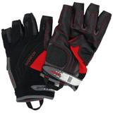 Harken Sport Men's 3/4 Finger Reflex Gloves, Black, Large