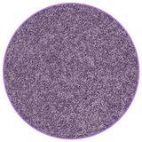 Koeckritz 4' Round Area Rug. Light Plum Purple