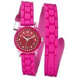 GUESS Diminutive Color Pop Double Wrap Watch -