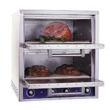 Bakers Pride P48-BL Countertop Pizza/Pretzel Oven - Double Deck, 208v/1ph