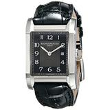 Baume Mercier Women's 10019 Hampton Ladies Black Leather Strap Watch