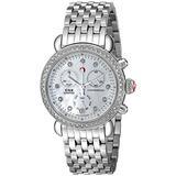 MICHELE Women's MWW03M000114 CSX-36 Stainless Steel Watch with Link Bracelet