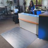 Floortex Polycarbonate Low Pile Carpet Beveled Standard Lip Chair Mat, Size 48.0 W x 60.0 D in   Wayfair FLR1115223ER