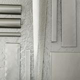 """Hubbardton Forge Metra 18"""" Table Lamp Glass/Metal in White/Black/Brown, Size 18.25 H x 13.5 W x 13.5 D in   Wayfair 268422-07-S48"""