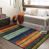 Mohawk Home New Wave Rainbow Stripe Area Rug, 5' x 8', Multi