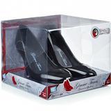 (Black) Stiletto Speaker Shoes - Gimme Tunes