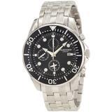 Rudiger Men's R2001-04-007 Chemnitz Black IP Black Dial Chronograph Watch