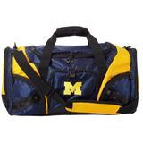 NCAA Michigan Wolverines Multi-Pocket Duffle Bag