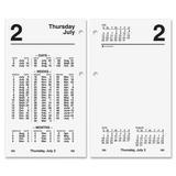 AT-A-GLANCE Financial Desk Calendar Refill, 3 x 6 Inches, 2013 (S170-50)