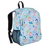 Wildkin 15 Inch Kids Backpack for Boys & Girls, 600-Denier Polyester Backpack for Kids, Features Padded Back & Adjustable Strap, Perfect Size for School & Travel Backpacks, BPA-free (Mermaids)