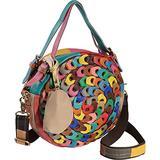 Amerileather Dream Catcher Pouch Handbag (#1760-9) Rainbow