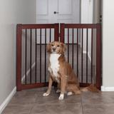 "Primetime Petz 360 Configurable Pet Gate Extension Kit, 30"" H, Medium, Natural Wood"