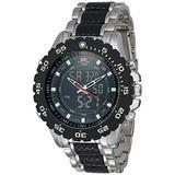 U.S. Polo Assn. Classic Men's US8161 Silver-Tone Watch