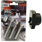 BUYBITS Motorcycle Handlebar Top Clamp M8 Mount & Ultimate Addons 3 Prong Adaptor (SKU 11086)