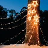 Christmas Shooting Star Light Displays - Double - Grandin Road