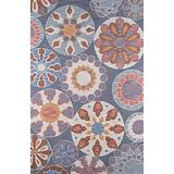"""Momeni Rugs Summit Collection, Hand Knotted Transitional Area Rug, 5' x 7'6"""", Blue"""