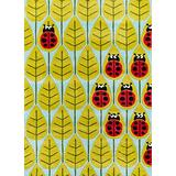 Momeni Rugs Lil' Mo Whimsy Collection, Kids Themed Hand Carved & Tufted Area Rug, 4' x 6', Lady Bug Red