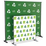 Testrite Grand Large Format Banner Stand in Gray, Size 46.0 W in | Wayfair JN4S