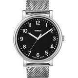 Timex Easy Reader Black Dial Men's watch #T2N602