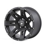 Rugged Ridge Black Satin Wheel (17 x 9. inches /5 x 5 inches, 12 mm Offset)