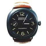 Panerai Radiomir Black Seal 45mm Hand Wound Mechanical Watch - PAM00292
