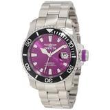 Invicta Men's 11213 Pro Diver Automatic Purple Dial Watch