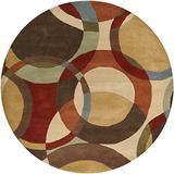 Surya FM-7108 Forum Chocolate 4-Feet Round Area Rug