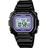 Casio F-108WHC-1BEF Mens Black Chronograph Watch