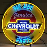 """Neonetics Cars & Motorcycles LED Neon Sign in Yellow, Size 24""""H X 24""""W X 4""""D 