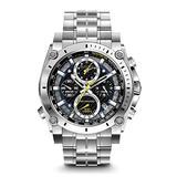 Bulova Precisionist Chronograph Mens Watch, Stainless Steel , Silver-Tone (Model: 96B175)